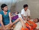 Thầy giáo nghèo quặn thắt nhìn hai con lần lượt nằm liệt giường