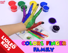 """Tiếng Anh trẻ em: """"Càn quét"""" từ vựng màu sắc với trò chơi """"vẽ bàn tay cầu vồng"""""""