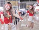 """""""Hot girl phòng gym"""" hâm mộ Bùi Tiến Dũng, dự đoán Việt Nam thắng Myanmar 2-1"""