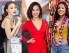 Tiểu Vy diện short jeans - áo thun tại Miss World; Ninh Dương Lan Ngọc quyến rũ với đầm 2 dây