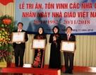 Nhiều cán bộ Đại học Thái Nguyên nhận Huân chương Lao động nhân dịp 20-11