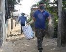 Quảng Ngãi: Thanh niên miền biển giúp dân xử lý rác thải