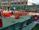 Nguyên nhân vụ sập giàn giáo trong ngày 20/11 khiến nhiều học sinh bị thương