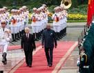 Tổng Bí thư, Chủ tịch nước Nguyễn Phú Trọng đón Tổng thống Ấn Độ