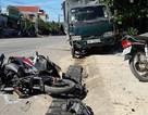 Xe tải gây tai nạn liên hoàn, 1 người chết, 2 người nguy kịch