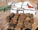 Vụ phát hiện vật nổ cạnh trường học: Tìm thấy... 750 vật nổ