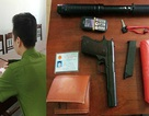 Khởi tố nghi phạm dùng súng K54 xông vào quỹ tín dụng cướp tiền
