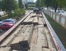 Bắt giữ 2 xe tải lắp biển số giả vận chuyển hàng chục khối gỗ lậu