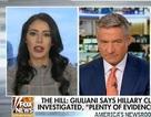 """Khách mời ví bà Hillary Clinton với """"mụn rộp"""", kênh truyền hình Mỹ đăng đàn xin lỗi"""