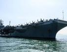 Biện pháp chống do thám của tàu sân bay Mỹ cập cảng Hong Kong