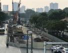 Rà bom mìn, di dời 11 cây xanh phục vụ tuyến metro Hà Nội