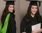 Hot girl gốc Việt tài năng đẹp rạng ngời trong lễ tốt nghiệp tại Anh