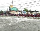 Thanh niên bị nước cuốn mất tích trong cơn mưa lớn ở Sài Gòn