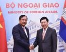 """Việt Nam - Campuchia triển khai """"một cửa, một lần dừng"""" tại các cặp cửa khẩu"""