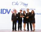 """BIDV - Ngân hàng đầu tiên đạt giải """"Ngân hàng Bán lẻ Tiêu biểu""""  3 năm liên tiếp"""