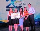 Sinh viên ĐH Quy Nhơn giành giải Nhất giải thưởng Sinh viên nghiên cứu khoa học Euréka