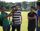 Phóng viên quốc tế theo sát buổi tập của đội tuyển Việt Nam