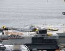 Nga công bố ảnh tàu sân bay duy nhất hư hại sau sự cố chìm ụ nổi