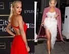Rita Ora diện váy xẻ bạo trình diễn cuốn hút