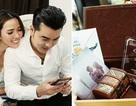 Hé lộ thiệp cưới Ưng Hoàng Phúc - Kim Cương
