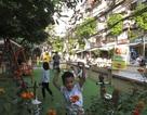 Bất ngờ với khu vui chơi mới tại các khu tập thể cũ ở Hà Nội