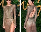Kendall Jenner mặc váy táo bạo dự sự kiện thời trang