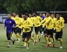 Đội tuyển Malaysia không mặc áo khoác, làm quen với cái lạnh tại Hà Nội