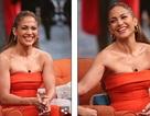 Jennifer Lopez quyến rũ với váy màu cam