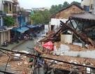 Nhà cổ đổ sập trong đêm có tường 2 lớp gạch, dày 60cm