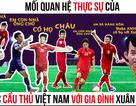 """Xuân Bắc, Tự Long """"nhận họ"""" với Đức Chinh cùng dàn sao cổ vũ tuyển Việt Nam"""