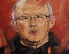 Bức tranh chân dung HLV Park Hang Seo được đấu giá từ thiện