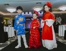 300 mẫu nhí trình diễn thời trang ở Hoàng thành Thăng Long