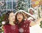 Thưởng thức Giáng sinh châu Âu phủ đầy tuyết trắng giữa lòng Hà Nội