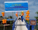 Cầu Sống Đầy ở Cà Mau được khánh thành trước thềm năm mới