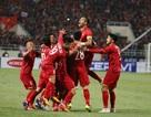 Quế Ngọc Hải đeo băng thủ quân đội tuyển Việt Nam tại Asian Cup 2019