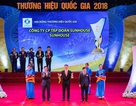 SUNHOUSE vinh dự đón nhận danh hiệu Thương hiệu quốc gia 2018