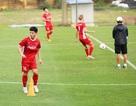 Vắng HLV Park Hang Seo, đội tuyển Việt Nam vẫn miệt mài tập luyện