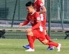 Quang Hải trở lại tập luyện cùng đội tuyển Việt Nam
