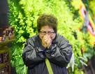 Nghệ sĩ ôm mặt khóc nức nở khi đến tiễn biệt NSND Anh Tú