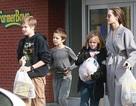 Angelina Jolie đưa con đi sắm quà giáng sinh