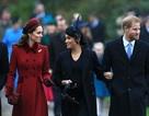Hai công nương nước Anh khoe vẻ thanh lịch trong ngày Giáng sinh