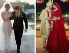 Trọn bộ váy cưới xa hoa của Priyanka Chopra