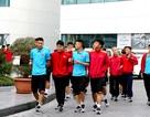 Đội tuyển Việt Nam thư giãn sau hành trình dài tới Qatar