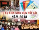 10 sự kiện giáo dục nổi bật năm 2018
