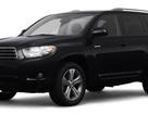 Nhiều xe Toyota Highlander bị rơi trục vô-lăng