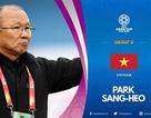 """Nhầm lẫn tai hại của AFC khi """"đổi tên"""" HLV Park Hang Seo"""