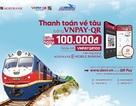 Ưu đãi giảm 100.000 đồng khi thanh toán vé tàu tết bằng QR Pay trên ứng dụng Agribank E-Mobile Banking