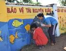 Học sinh đưa ước mơ, thông điệp cuộc sống lên các bức tường trong trường học