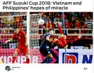 Báo châu Á nói gì sau khi đội tuyển Việt Nam vào chung kết AFF Cup 2018?