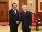 Thủ tướng Vương quốc Campuchia kết thúc chuyến thăm chính thức Việt Nam